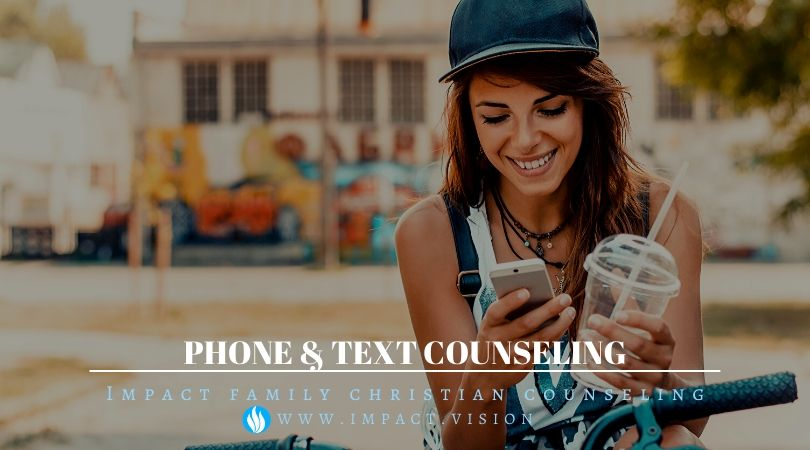 Phone & Text Counseling
